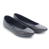 harga Dr. Kevin Women Flats Shoes Pu Leather 43196 - Black Tokopedia.com
