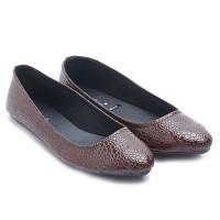 harga Dr. Kevin Women Flats Shoes Pu Leather 43196 - Maroon Tokopedia.com