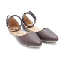 harga Dr. Kevin Women Flats Shoes 26122 - Brown Tokopedia.com