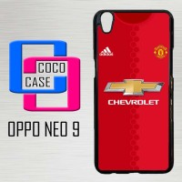 Casing Hardcase Hp Oppo Neo 9 Manchester United 2016 X4257