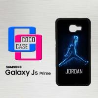 Casing Hp Samsung Galaxy J5 Prime Air Jordan Logo Neon X4182
