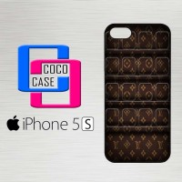 Casing Hardcase Hp iPhone 5s Louis Vuitton Brown X4435