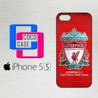 Casing Hardcase Hp iPhone 5s Liverpool Wallpaper X4593