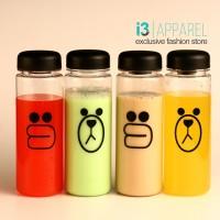 Jual Botol Minuman / Minum Plastik Karakter Line Sally & Brown Lucu 500ml Murah