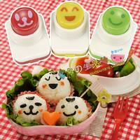Jual Nori Puncher - 3 Face Food Mold Vegetable Cutter Cetakan Bento Sayuran Murah