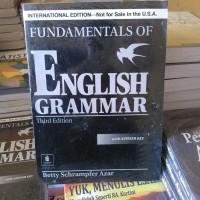 FUNDAMENTAL OF ENGLISH GRAMMAR With Answer Key ed 3 - BETTY AZAR