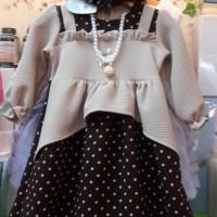 Gamis Anak Perempuan Baju Muslim Bayi / Baju Lebaran Anak 1-5 Tahun