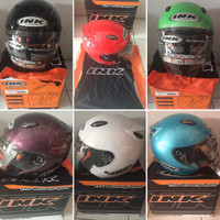 Helm INK Centro Jet Solid 100% Original Asli Half face