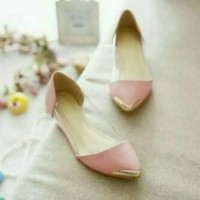Flat Shoes Mika Teplek Pink