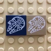 Lego custom millenium falcon