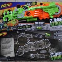 NERF Zombie Strike Brainsaw Blaster - Pistol NERF - Pistol Mainan