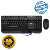Logitech Keyboard Dan Mouse G100s Gaming Combo Original