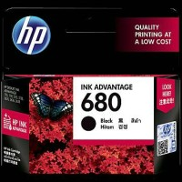 Cartridge Hp 680 Black Ink - 100% Original