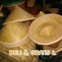 Caping, topi petani diameter 40-45 cm, Murah