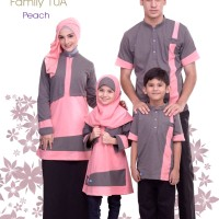 Alnita Family Sarimbit Keluarga 10 Peach