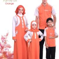 Alnita Family Sarimbit Keluarga 05 Orange