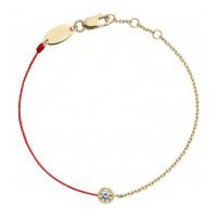 Tiaria Family Chain Bracelet Red String Gold Perhiasan Gelang Emas 18K