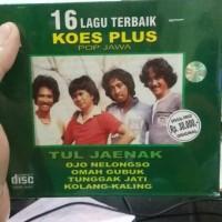 CD ORIGINAL KOES PLUS - 16 LAGU TERBAIK KOES PLUS POP JAWA