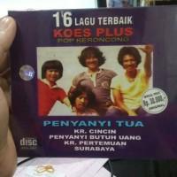 CD ORIGINAL KOES PLUS - 16 LAGU TERBAIK KOES PLUS POP KERONCONG