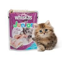 Makanan Kucing / Wet Food Kitten Whiskas Junior