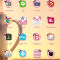 Paket Hemat Tema BBM Line Android
