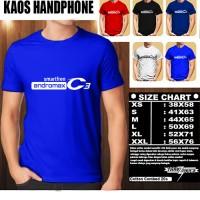 Kaos Gadget Handphone SMARTFREN ANDROMAX C3 Font/Baju Distro/Tshirt Hp