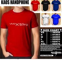 Kaos Gadget Handphone VIVO X5Pro Font/Baju Distro/Tshirt Hp Murah