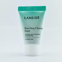 laneige pore deep clearing foam 10ml