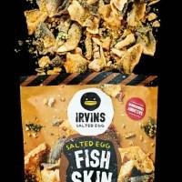 Irvins Salted Egg Fish Skin 105 gr | Irvin