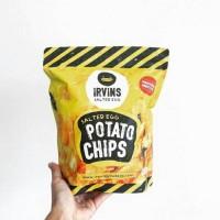 Irvins Salted Egg Potato Chips 105 gr | Irvin
