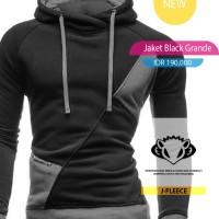 Jaket Sweater Black Grande