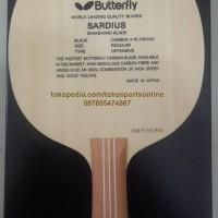 Butterfly Sardius Kayu / Blade Bat / Bet Pingpong / Tenis Meja