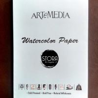 ARTEMEDIA Watercolor Paper A5 Watercolour Paper Kertas Khusus Cat Air
