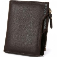 DOMPET PRIA |BOGESI FINE LEATHER MEN'S WALLET COFFEE BROWN