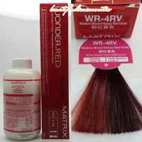 MATRIX WONDER.RED 4RV MEDIUM BROWN INTENSE RED VIOLET 50ML LEVEL-4