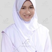 Jual Kerudung Sekolah Rabbani Great Inova Size L jilbab anak SMA - PONDOK Murah