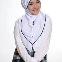 Kerudung Sekolah Rabbani Great New Inova size L  jilbab Back To School