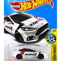 Ford Focus RS PUTIH / WHITE KONI - Hot Wheels HW Hotwheels