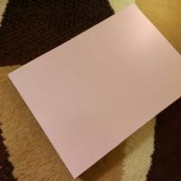 Kertas Jasmine Motif Gliter Pink Peach Ukuran A4 untuk undangan mewah