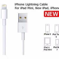 Terlaris! Kabel Data Iphone 5 / Kabel Data Iphone 6 / Kabel Charger Ip