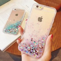 Iphone 5 5s SE Star Glitter Sparkle Liquid Water Hard Case Casing HP