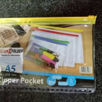 Zip pocket binder A5 bahan bagus murah berkualitas