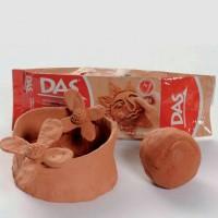 Clay/Tanah liat DAS coklat 1 Kg