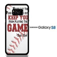Babe Ruth Quotes Sports E1098 Casing Samsung S8 Custom Hard case