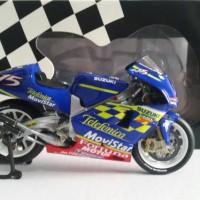 Minichamps Suzuki sete gibernau 2001