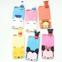 CASE / CASING HP IPHONE/ SAMSUNG/ OPPO/ VIVO PEEK SLEEP BABY DISNEY 3D