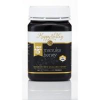 Happy Valley Honey UMF 15+ NZ Manuka Honey 250 Gram