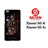 Casing HP Xiaomi Mi4i, Mi4c dota 2 heroes chibi Custom Hardcase Cover
