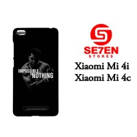 Casing HP Xiaomi Mi4i, Mi4c impossible is nothing Custom Hardcase Cove