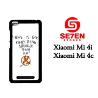 Casing HP Xiaomi Mi4i, Mi4c Hope is The Only Thing Custom Hardcase Cov